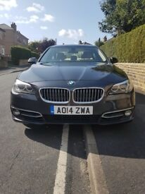 BMW 520d Luxury spec with cream interior