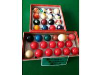 Snooker/pool table 6ft folding Belgian balls plus cues rest chalk triangle rips