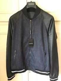 Armani brand new Nappa Leather jacket