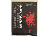 Management Accounting for Decision Makers (8th edition) by Peter Atrill & Eddie McLaney