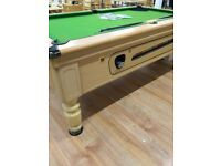Pub style pool table, free delivery within reasonable distance.