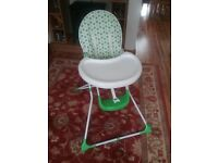 HIGHCHAIR complete with User Guide