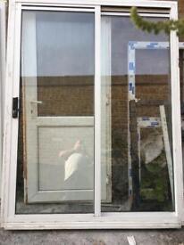 Aluminium sliding French doors