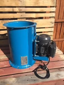 Gallito Spray Booth Fan with Brand New Single Phase Motor & Drive belt