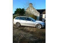BMW 320d. 2005. Spares or repair project. Mot just out