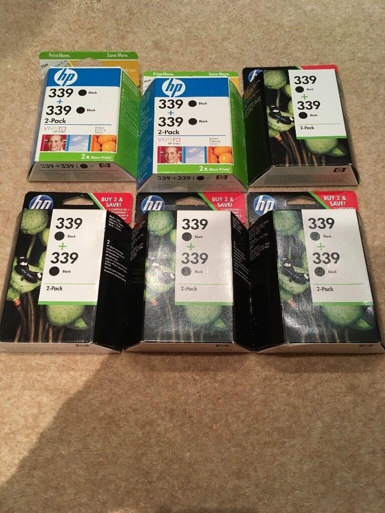 Genuine HP339 printer cartridges