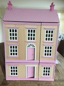 Ladybird Wooden Dolls House