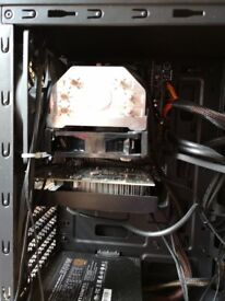 I5-6500, 8GB 2400MHz ram, H110-S2H Motherboard with Cooler Master Hyper 103 Air CPU