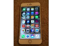 "Apple iPhone 6S Plus 64gb in Mint Condition and Boxed *Gold*"""" UNLOCKED"