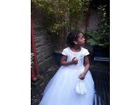 Beautiful first holy conmunion dress