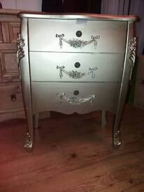 Gold drawers