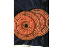 Weight plates 6kg £12
