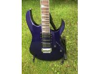 Electric Guitar Ibanez Mint condition GRG170DX Jewel Blue