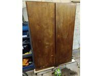 Large vintage wardrobe cupboard