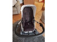 Pram buggy and carseat