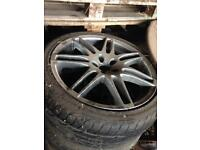 18 inch Audi RS6 alloys VW Seat