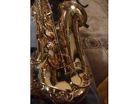 Trevor James Alpha Alto Saxophone,as new with receipt