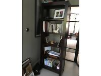 Beautiful dark wood bookcase