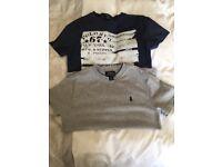 Boys Ralph Lauren tshirts