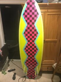 "Catchsurf 6""6 surfboard"
