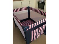 Portable Baby/Infant Playpen Travel Cot Bed