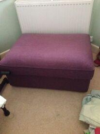 Storage bedroom seat