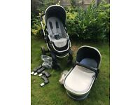 iCandy Peach 3 pram and carrycot