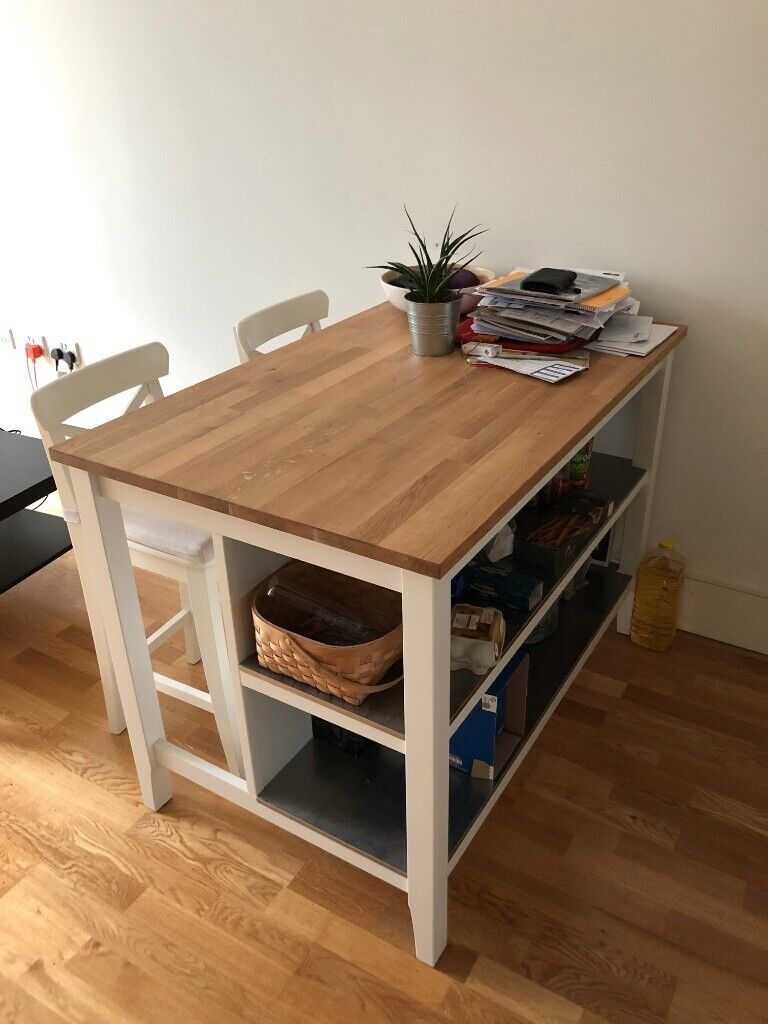 IKEA Stenstorp Kitchen Island & Chairs | in Islington, London | Gumtree