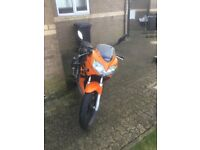 CBR 125 RSW-6 underglow leds led indicators and MIVV road leagal exhaust rides well