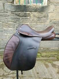 17 inch Jefferies saddle