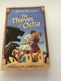 The Roman Mysteries: The Thieves of Ostia book by Caroline Lawrence.