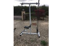 High/low pulley machine