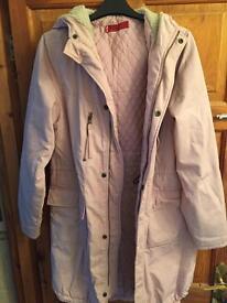 Genuine Levi jacket coat. Pink medium.