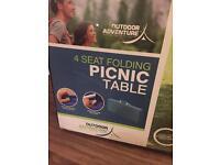 4 seat folding picnic table