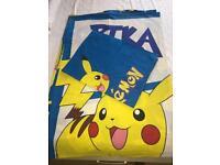 Pokemon single bed set