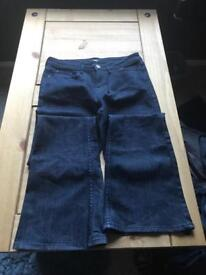 9 Pairs of Ladies Trousers & Jeans - Size 6/8 - Sold as a lot!