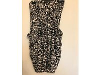 Size 10 leopard print dress from Newlook.