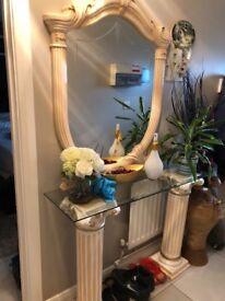 Rosella Classic Itlalian Hallway table&Mirror