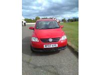 VW FOX 2007. 3 DOOR 1 year MOT £1.250 ovno