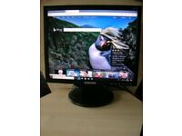 "Samsung SyncMaster 723N 17"" LCD Monitor 17 inch Computer Screen Panel with Stand"