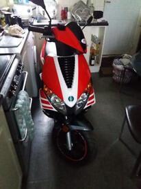 Motorini 125 cc sports scooter