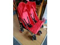 Zeto red double buggy