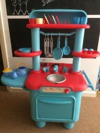 ELC kids kitchen with accessories.
