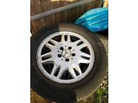 W639 wheels and tyres