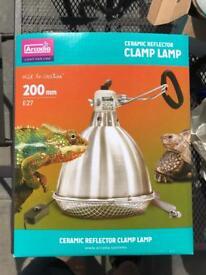 Arcadia Ceramic Reflector Lamp with 100w D3 UV Basking Bulb