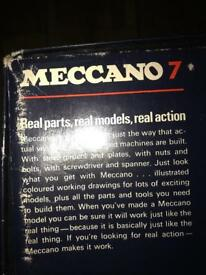 Vintage Meccano. Set no 7 - great gift