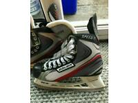 Bauer vapor speed Tl size 8.5 ice skating