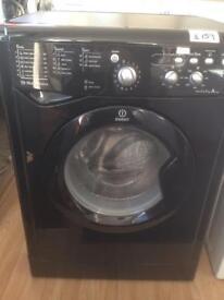 Black Indesit washer. 7kg. £159.00