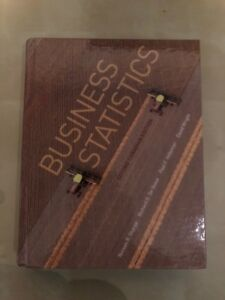 Business Statistics - Second Canadian Edition Textbook