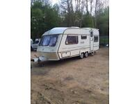 NightStar 5 berth caravan 1996 Twin Axel